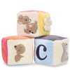 Organic Block Set, Woodland Pals