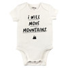 I Will Move Mountains Bodysuit, Natural