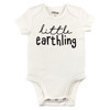 Little Earthling Bodysuit, Natural