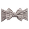 Basket Weave Knot Bow, Taupe