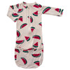 Convertible Zip Gown, Watermelon