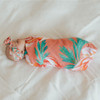 Bow & Swaddle Set, Pink Coral