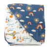 Muslin Quilt, Narwhal/Hello Sunshine