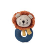 Lion Knit Ring Rattle