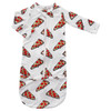 Convertible Zip Gown, Pizza