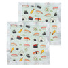 Security Blanket 2-pack, Sushi