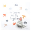 """""""In Dreams We Fly Together"""" Organic Swaddle Scarf™"""