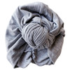 Knot Turban, Heathered Grey