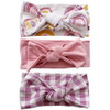 Knot Bow 3-Pack, Rainbow Sunset