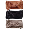 Knot Bow 3-Pack, Earth Tones