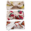 Knot Bow 3-Pack, Foodie