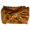 Holiday Collection Damask Bow Headband, Gold