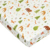 Muslin Crib Sheet, Forest Friends