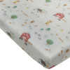 Muslin Crib Sheet, Farm Animals