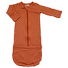 Convertible Zip Gown, Rust