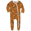 Organic Footed Romper, Woolly Mammoth