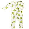 Avocado Zip Romper