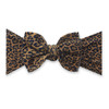 Printed Knot Bow, Leopard