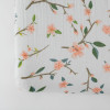 Muslin Changing Pad Cover, Peachy Blossom