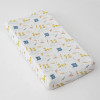Muslin Changing Pad Cover, Puddles