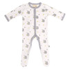Bamboo Footed Romper, Sloth