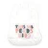 Wonder Bib, This Bib Feeds Kids - Pink