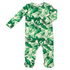 Zipper Footie, Monstera