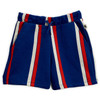Mini Rodini Stripe Sweatshorts, Blue