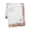 LUXE™ Baby LOVE Blanket, Dusty Pink