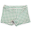 Oeuf Swim Short, Green Dots