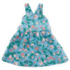 Oeuf Overall Dress, Blue Flowers
