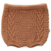 Oeuf Cable Knit Short, Brown Sugar