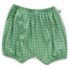 Oeuf Bubble Shorts, Green Check