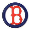 MLB Silicone Teether, Boston Red Sox