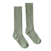 Rylee & Cru Ribbed Socks, Olive