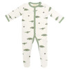 Bamboo Footed Romper, Dino