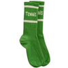 Mini Rodini Tennis Socks, Green