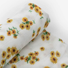 Deluxe Muslin Swaddle, Ditsy Sunflower