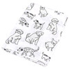 Organic Swaddle, Puppy Dogs
