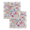 Security Blanket 2-pack, Light Field Flowers