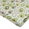 Muslin Crib Sheet, Avocado