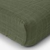 Muslin Changing Pad Cover, Fern