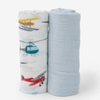 Deluxe Muslin Swaddle Set, Air Show