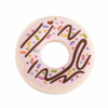 Single Donut Silicone Teether, Pink