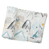 Mountains Muslin Swaddle Blanket