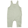 Pocket Overalls, Green Stripe