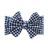 FAB-BOW-LOUS Bow, Houndstooth