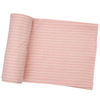 Bamboo Stretch Swaddle, Pink Stripe
