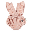 Baby Shorties w/ Frill Straps, Pink Corduroy