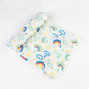 Rainbow Bright Muslin Swaddle